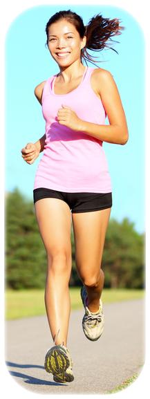 running girl gravitációs pad